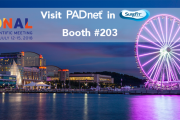 Don't miss PADnet at the 2018 APMA National Scientific Meeting