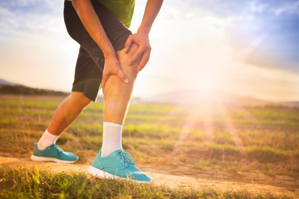Runner and leg pain