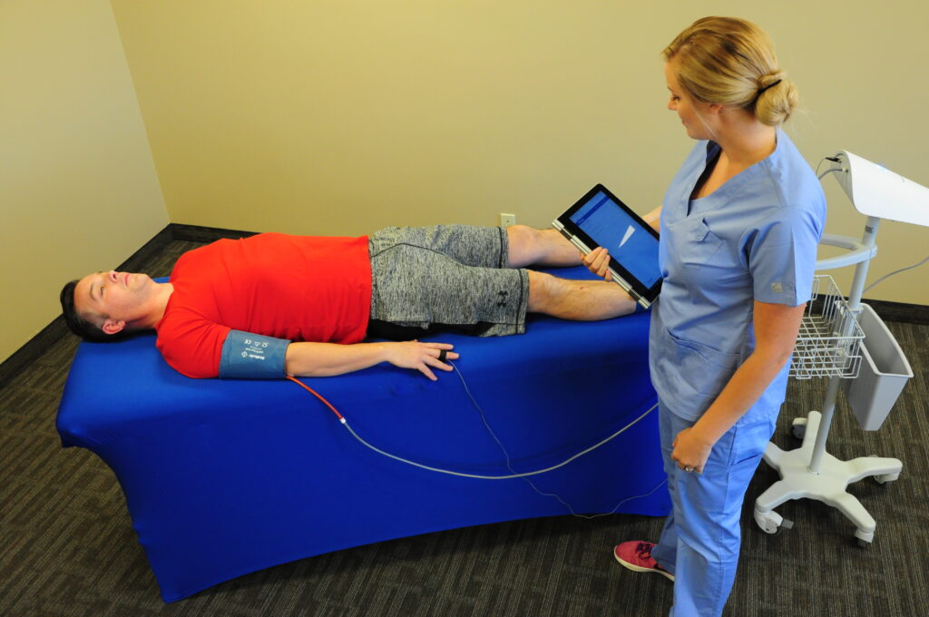 PADnet performed by a medical assistant