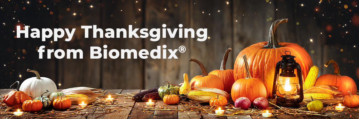 Happy Thanksgiving from Biomedix