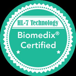 HL7 - Biomedix Certified